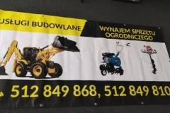 baner usługi budowlane