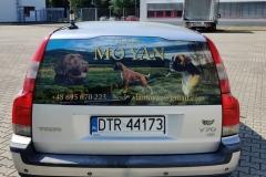 oklejanie pojazdów moyan
