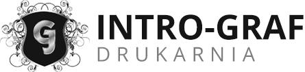logo intrograf drukarnia
