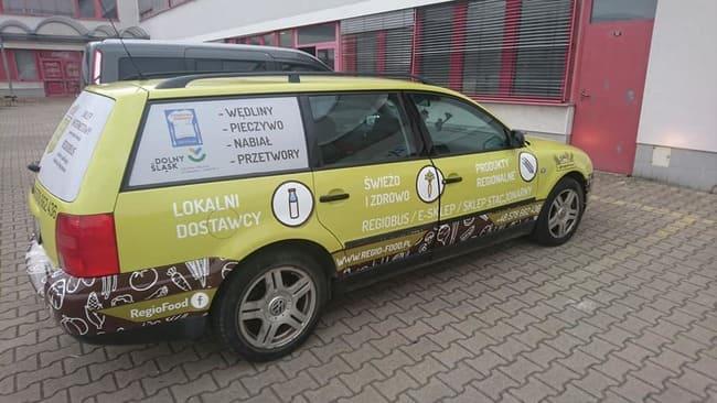 reklamowe oklejanie pojazdów legnica