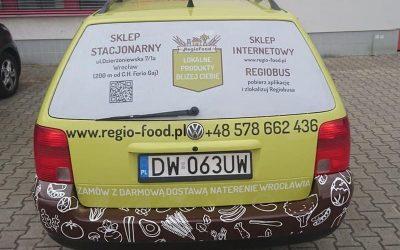 reklamowe oklejanie pojazdów wrocław